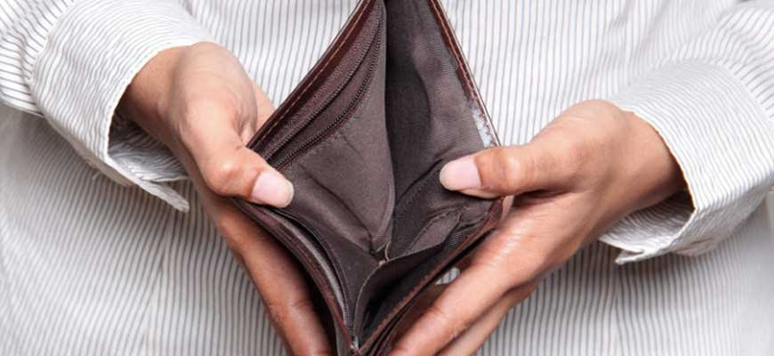 Как пройдет банкротство если нет имущества для реализации и погашения долгов