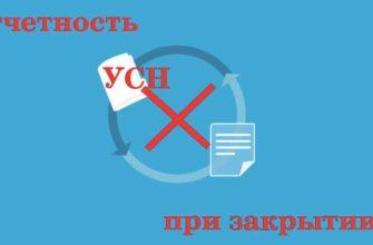 Декларация ИП УСН при закрытии ИП