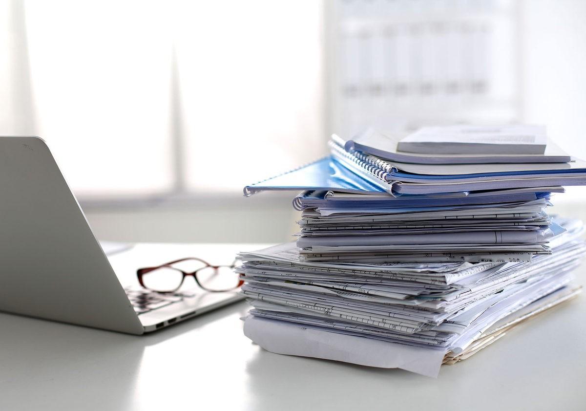 Документы для подготовки отчетности