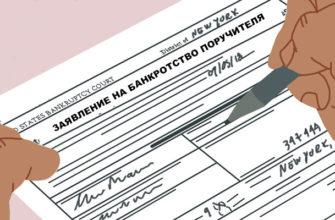банкротство поручителя